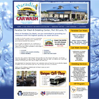 car wash website design, car wash websites