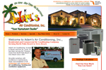 heating and cooling website design | hvac Websites | air conditioning company websites