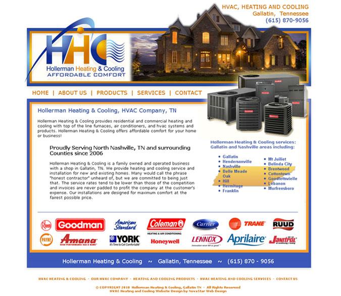 Electrical Website Design Responsive