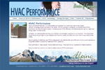 Heating and Cooling HVAC Contractor Website Design