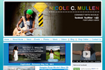 music website design for Nicole C Mullins, music artist, by NovaStar Design