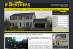 roofing website design and roofing websites by NovaStar Design