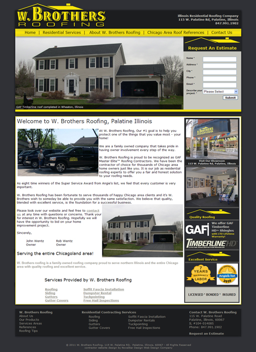 Contractor Website Design Contractor Web Design