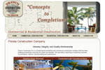Construction Website Design Jensen Beach FL