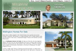 Real Estate Web Design for Wellington FL Realtor